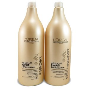 Kit L'Oreal Professionnel Absolut Repair Cortex Lipidium Sh+Cond -1,5L