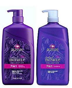 Aussie 7 em 1 Shampoo e Condicionador Total Miracle - 778ml
