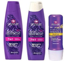 Kit Aussie 7 em 1 Total Miracle + 3 Minute Shine