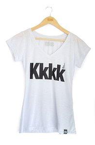 Blusa Kkkk clássica White