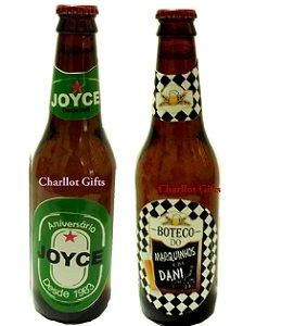 Rótulo para Cerveja - 2 uni