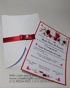 Convite Floral