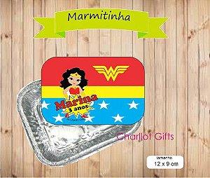 Rótulo p/ Mini Marmitinha -  4 unidades