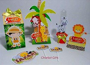Kit Festa - Safari com 7 peças