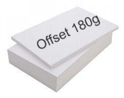 PAPEL OFFSET A4  180gr- 20 folhas