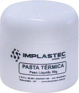 Pasta Térmica Implastec 50g - Pote
