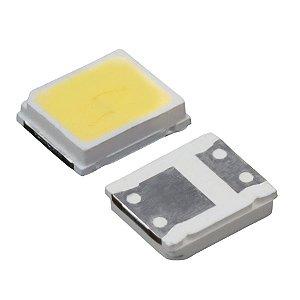 LED SMD 2835 - BRANCO FRIO  P/ BARRAMENTO LED - 3V - 1W