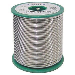 Solda Estanho 500g Cobix Verde SN40 PB60 1mm C/ Resina