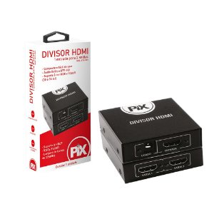 Splitter Distribuidor HDMI 1x2 v1.4 1080p - Pix 075-0811