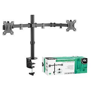 Suporte de Mesa Ajustável Para 2 Monitores 13 A 32 Pol. - Pix PX-08