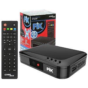 Conversor Tv Digital Terrestre ISDB-T/IRD Full Hd - PIX SC-1001