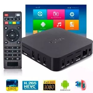 Smart Tv Box Android Quad Core Mxq Netflix Youtube
