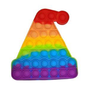 Pop It, Fidget Toy Brinquedo Anti Stress | Gorro de Natal - IM09