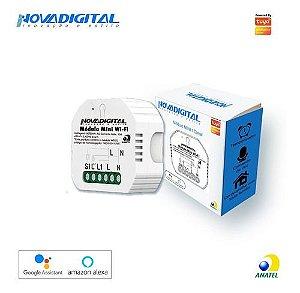 Mini Interruptor Wi-Fi Tuya 1 Canal - Novadigital MS104B-N
