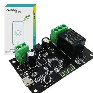 Módulo Interruptor Relé Wi-Fi Pulso App Tuya - Jwcom SA-PU01 DIY