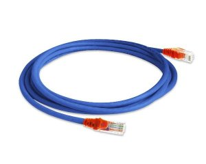 PATCH CORD 2.5 METROS CAT5E AZUL PC5E25-BL - LAN EXPERT
