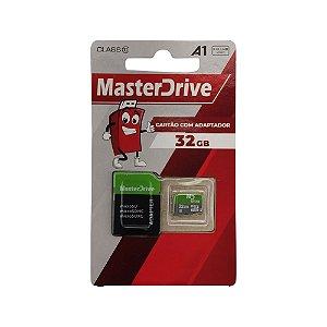 Cartão De Memória Micro SD MasterDrive Class 10 - 32GB