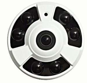 Câmera AHD 360 graus Panorâmica 960P - Jortan