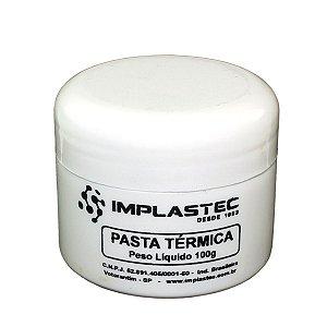 Pasta Térmica Implastec Pote 100g