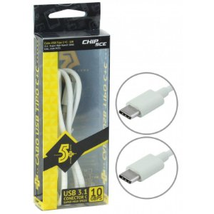 CABO USB TIPO C X TIPO C 10GBPS - 1 METRO