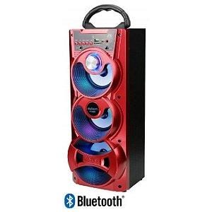 Caixa De Som Portatil Torre Bluetooth 18W SD/USB/FM Com Microfone - VC-M913BT