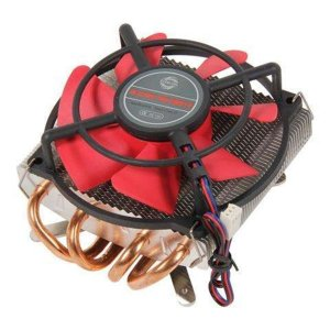 Cooler Para Processador Gamer Evercool Heatpipe Intel e AMD