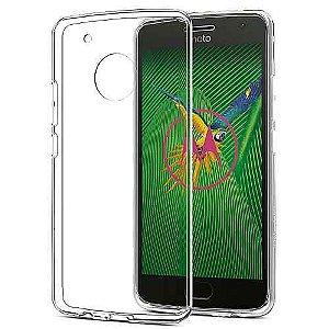 Capa Case Moto G5 Plus Flexivel Transparente Tpu