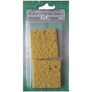 Esponja Vegetal Para Solda - Pacote com 2 Unidades