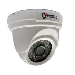 Câmera Cftv Dome Interna JL Protec Hibrida 4 em 1 - 1/3 2.8mm - Ahd, Hd Cvi, Tvi e Analógica