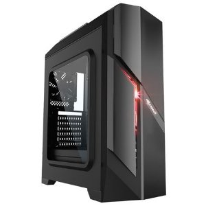 Gabinete Gamer C3Tech USB 3.0 s/Fonte c/Janela de Acrílico - MT-G700BK