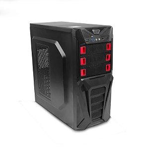 Gabinete C3 Tech GAME MT-G200-BK sem Fonte