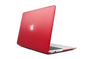 Capa Case Para Macbook Pro Retina 13 Polegadas - Vermelho