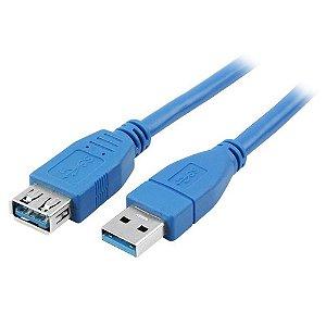 Cabo USB 3.0 Tipo A Macho x Fêmea 5 Metros  018-7724
