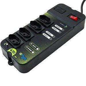 Filtro De Linha Smart I9plug - Controle Sua Tomada Pela Internet