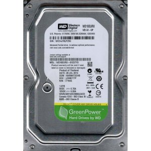 Hd 1tb Sata 3 7200rpm 64mb Western Digital - Wd10eurx
