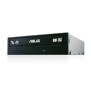 GRAVADOR DVD INTERNO 24X ASUS BLACK DRW-24F1MT/BLK/AS - 208000013