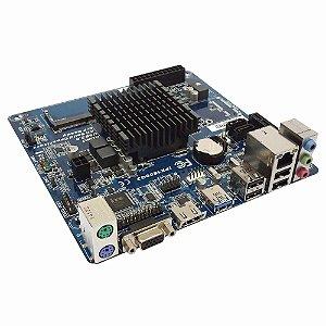 Placa Mãe PCWare IPX1800G2 com Celeron Dual-Core 2.41GHz DDR3L (S,V,R)