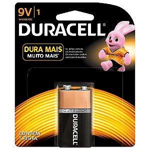 Bateria Pilha 9v Duracell Duralock Technology - Original