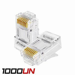 Conector Rj45 Cat5e Basic, Nexlan - 1000 Unidades