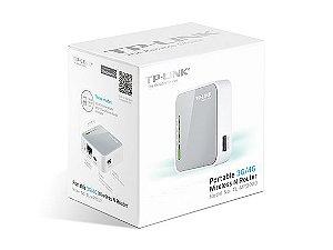 Roteador Para Modem 3G/4G TP-Link Portaltil TL-MR3020 Wireless 150Mbps