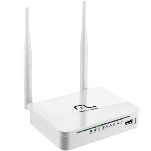 Roteador Wireless Multilaser 3g 300mbps 2 Antenas Re070
