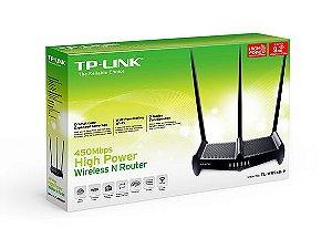 Roteador Alta Potencia 1000mw Wifi 450mbps Tp-link Tl-wr941hp
