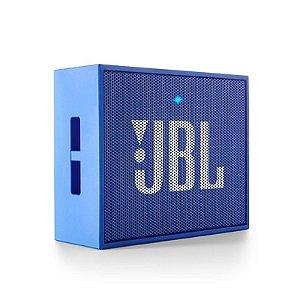 Caixa de som Portátil Bluetooth JBL Go - Azul