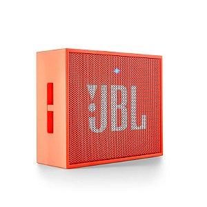 Caixa de som Portátil Bluetooth JBL Go - Laranja