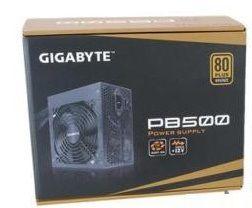 Fonte Real Atx Gigabyte 500W 80 Plus Bronze - PB500