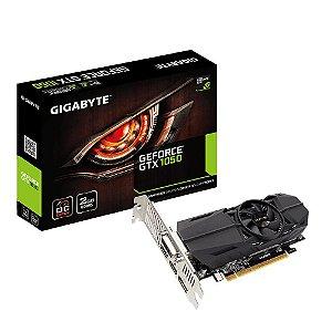 Placa de vídeo Nvidia GTX1050 2GB OC LOW PROFILE DDR5 GIGABYTE GV-N1050OC-2GL