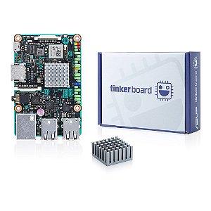 PLACA MÃE ASUS TINKER BOARD /2GB/SBC MB 90-MB0QY1-M0EAY0