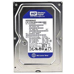 HD 250GB INTERNO 3.5 SATA WESTERN DIGITAL CAVIAR BLUE - WD2500AAJS