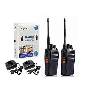 Kit 2 Un. Rádio Ht Comunicador Baofeng  BF-888S 16 Canais