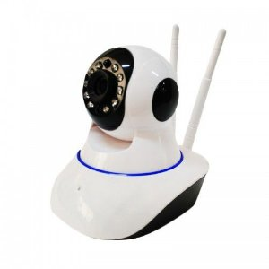 Câmera Ip Onvif Hd Ptz Robozinho 1.3mp 720p Wireless - 2 Antenas